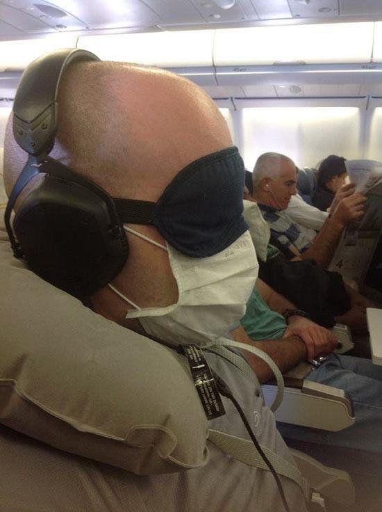 Dans l'avion : 11 photos insolites...