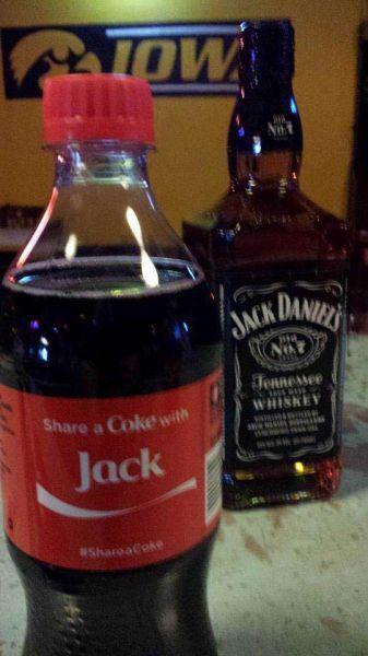 Share a coke with Jack