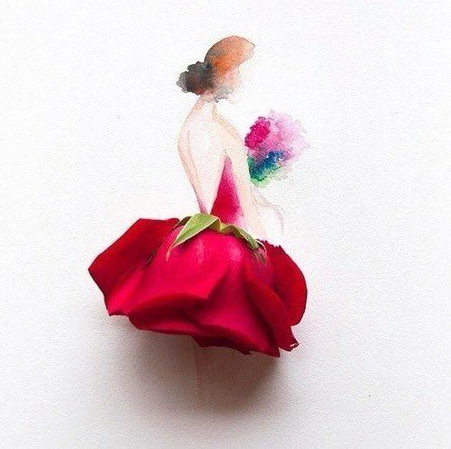 C'est en croyant aux roses qu'on les fait éclore.. (Anatole France)