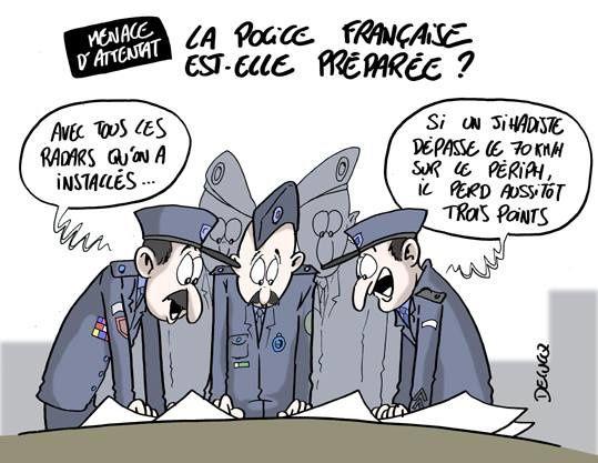 Menace d'attentat : La police française est-elle préparée ? (par Delucq)