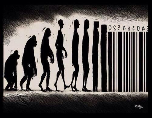 Evolution, par Banksy