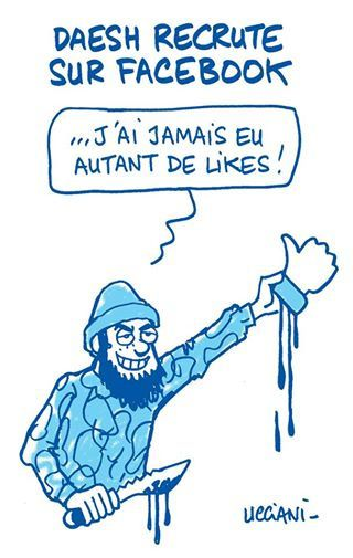 Daesh recrute sur Facebook (par Wingz)