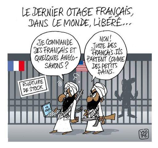 Le dernier otage français libéré