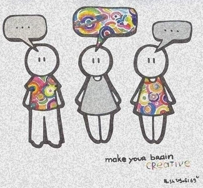 Make your brain creative