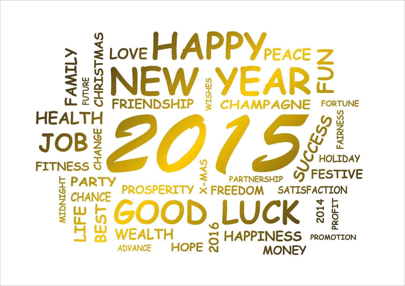 Bonne &amp&#x3B; Heureuse année 2015 !