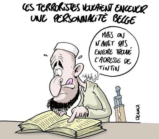 Les terroristes voulaient enlever une personnalité belge.. (par Delucq)