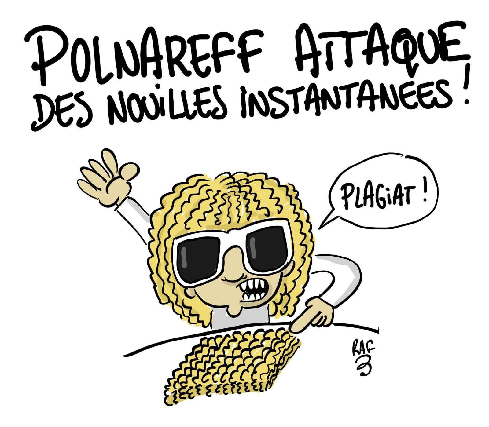 Polnareff attaque les nouilles instantanées