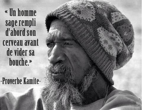 &quot&#x3B;Un homme sage rempli d'abord son cerveau avant de vider sa bouche.&quot&#x3B; Proverbe Kamite