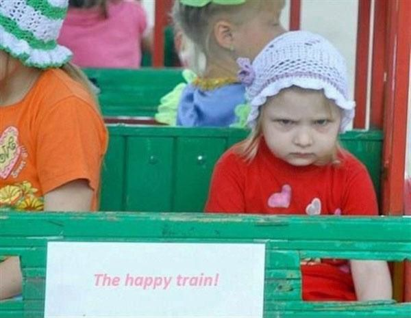 The happy train