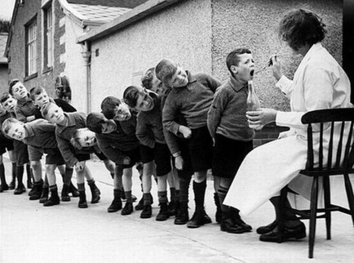 L'huile de foie de morue – 1960