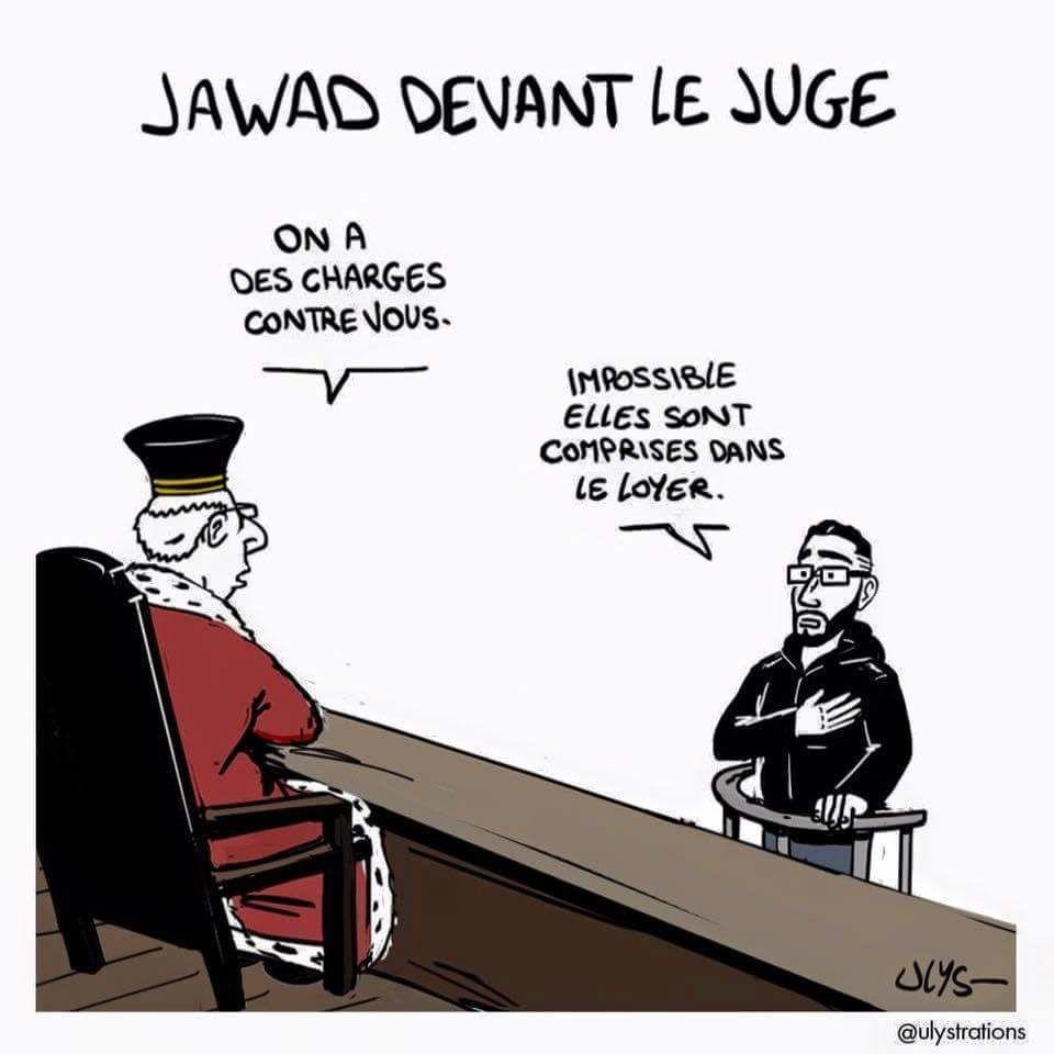 Jawad devant le juge