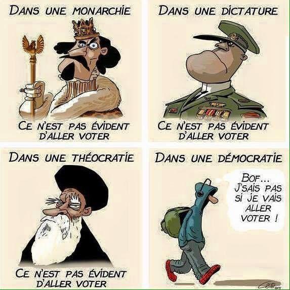 Dimanche, n'oubliez pas d'aller voter !