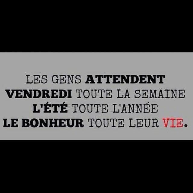 Les gens attendent..