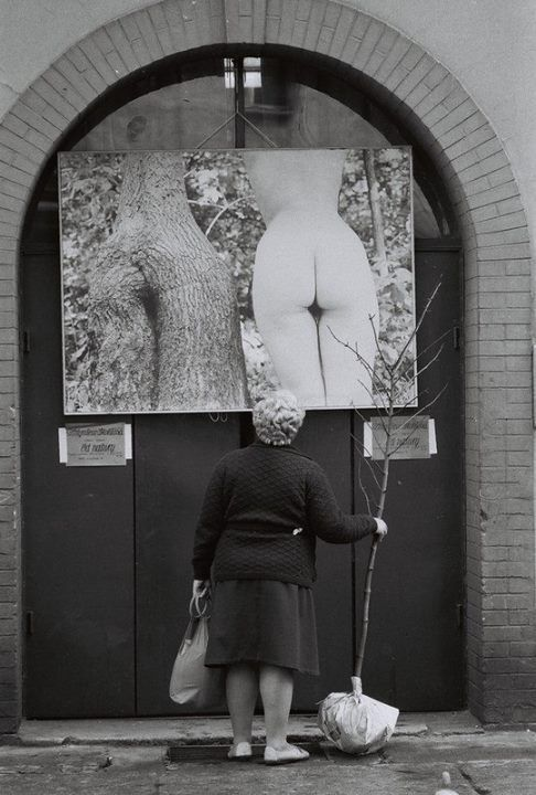 Mère Nature ? (photo Robert Doisneau)