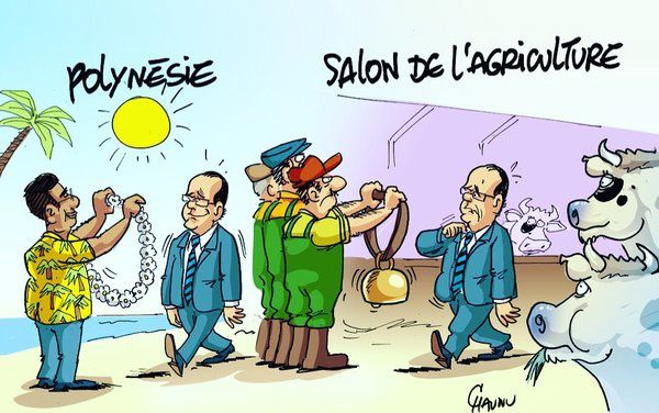 Hollande au Salon de l'Agriculture