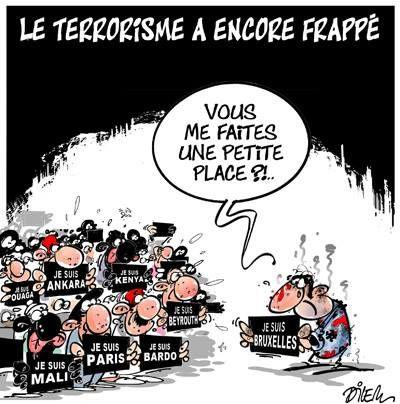 Le terrorisme a encore frappé (par Dilem)