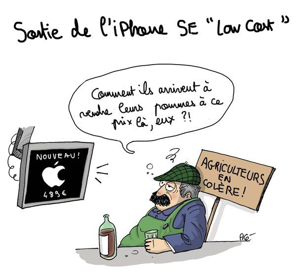 Sortie de l'iPhone Low Cost
