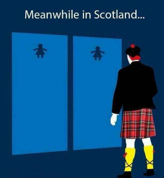 Meanwhile in Scotland..