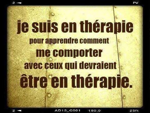En thérapie
