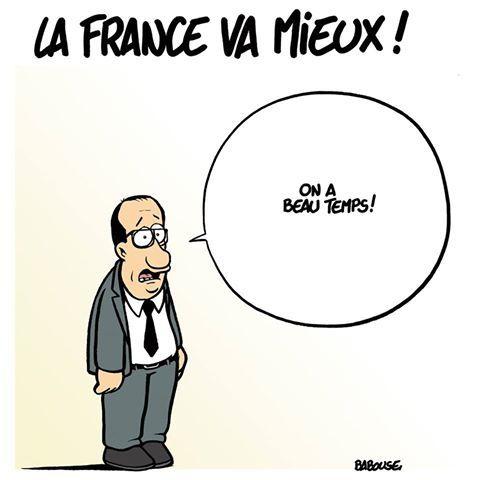 La France va mieux (par Babouse)
