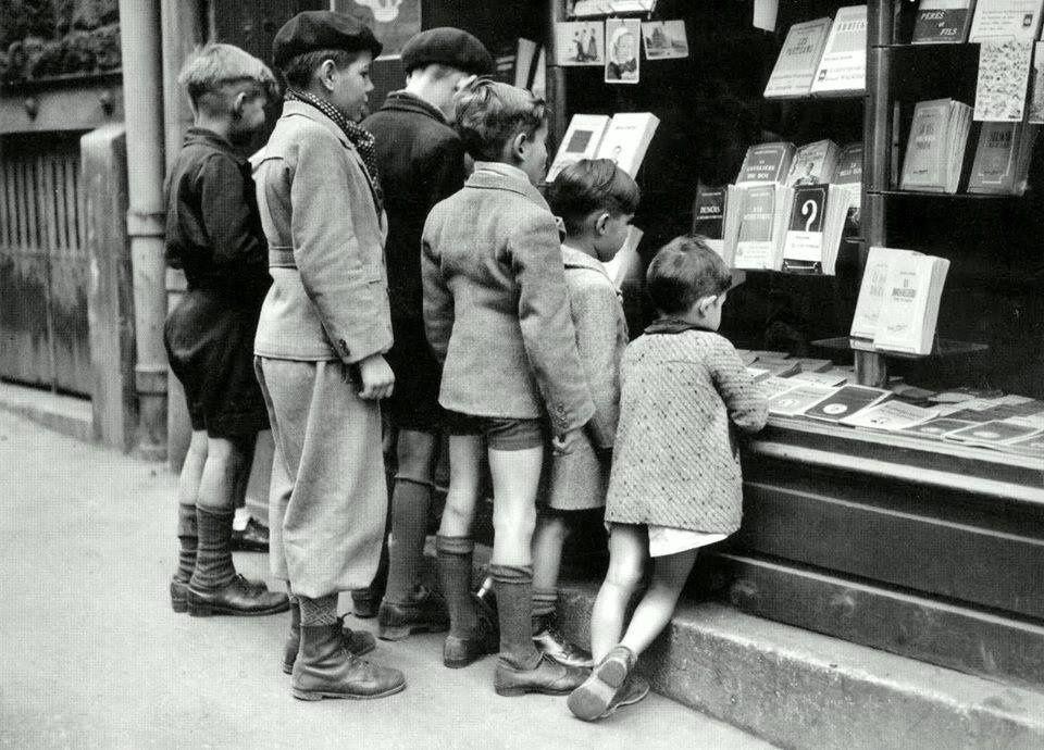 La lecture : la porte ouverte vers l'évasion (1948)