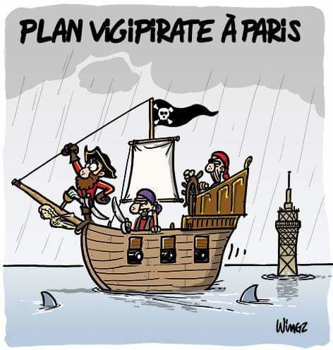 Plan Vigipirate à Paris