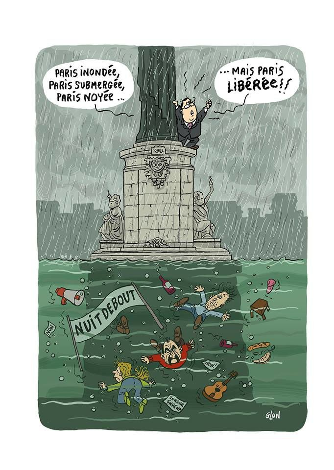 Paris inondée, Paris submergée..