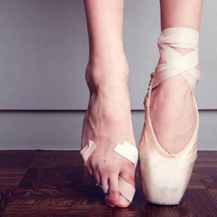 Pieds de danseuse