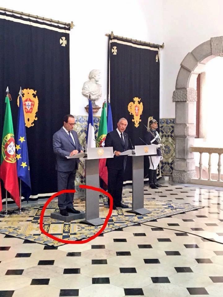 Hollande au Portugal
