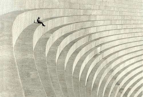 The Thinker, c. 1930 (by Hiromu Kira)