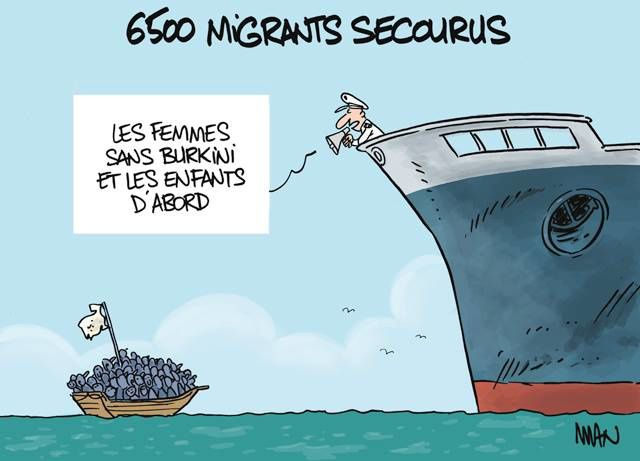 6500 Migrants secourus (par Man)
