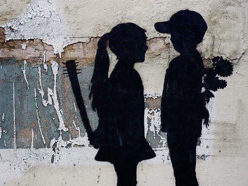 ¿ Innocence ? – #Creative #StreetArt