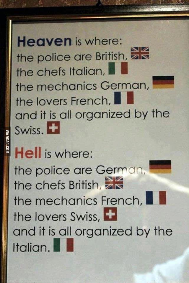 Paradis vs Enfer