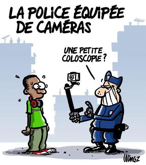 La police équipée de caméra