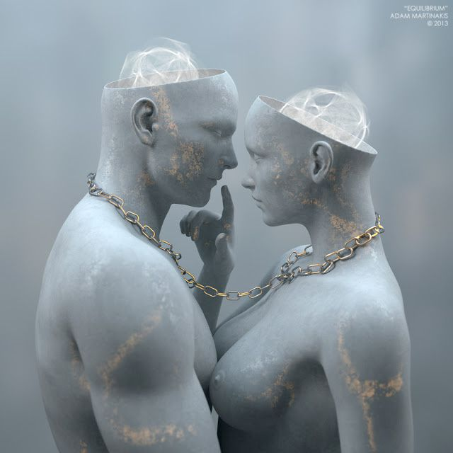 L'Art 3D de Adam Martinakis
