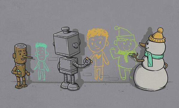 Compagnon de vie (par l'illustrateur Ben Chen)