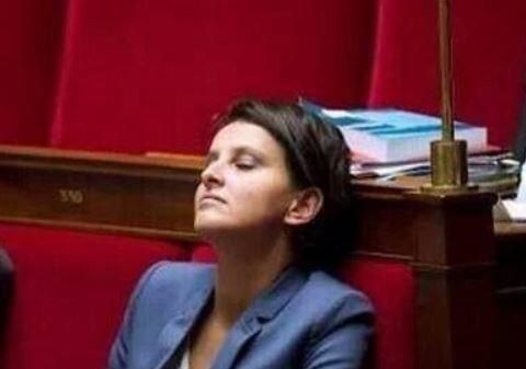 Assemblée Nationale : Najat Vallaud-Belkasomme..