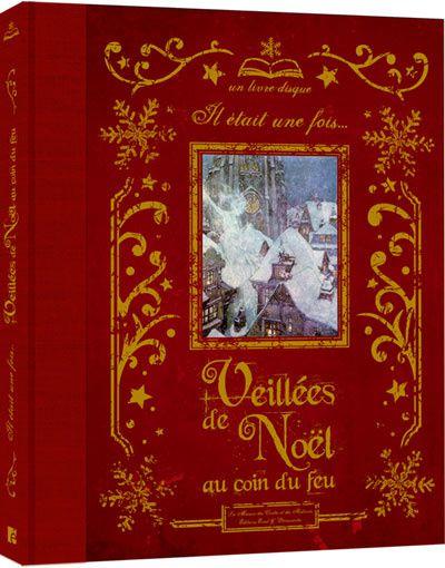 Ce magnifique livre-disque nous plonge dans la tradition et la magie éternelle de Noël. Le livre, nous réunit autour de quatre thèmes, de dix contes magnifiquement illustrés de peintures et gravures de la première moitié du XXème siècle. Les merveilles de la nuit de Noël : Un conte de Noël, d'après le conte de C. Dickens &#x3B; Les contes du Berger : La légende du chemin creux Contes de Noël, C. Labelle &#x3B; Les lutins et le cordonnier, conte de J. et W. Grimm*. Autour du sapin : Le sapin, conte d'H. Andersen*&#x3B; Le sapin qui chante, Simon & Schuster, Inc., A.W.G.A. Cristaux et flocons : La reine des neiges, conte d'H. Andersen*&#x3B; La petite fille aux allumettes, conte d'H. Andersen &#x3B; La petite fille de neige, d'après un conte russe. Les jouets de Noël : Casse-Noisette, d'après le conte d'Hoffman*&#x3B; La légende de saint Nicolas, d'après la légende de saint Nicolas. Sur le CD, les conteuses de La Maison des Contes et Histoires vous délivrent une interprétation enchanteresse des quatre contes marqués d'une étoile.