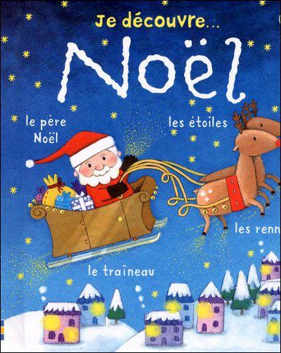 Un livre charmant, pour que bébé découvre son premier Noël, avec en autre : la décoration du sapin, les préparatifs pour la venue du père Noël, l'ouverture des cadeaux...  De nombreuses choses à regarder et à nommer, pour aider l'enfant à parler, à acquérir du vocabulaire et à associer mots et images.
