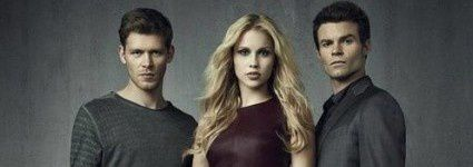 Klaus (Joseph Morgan), Rebekah (Claire Holt) und Elijah (Daniel Gillies)