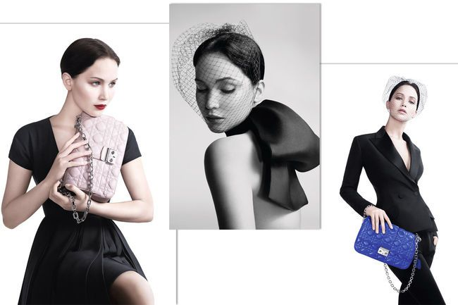 Jennifer Lawrence als Miss Dior