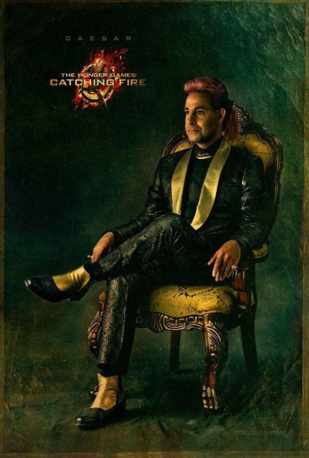 Stanley Tucci als Caesar Flickerman, der Moderator der Interviews im Kapitol