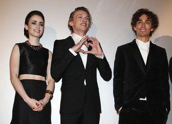 Lily Collins, Jamie Campbell Bower und Robert Sheehan stellen ihren Film den deutschen Fans vor