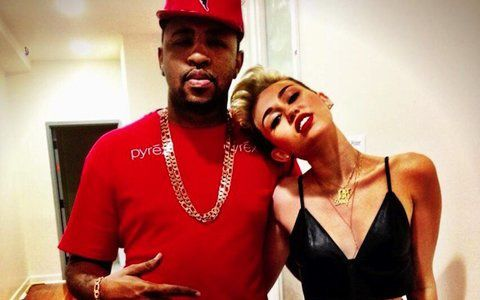 Miley Cyrus mit Mike Will Made It