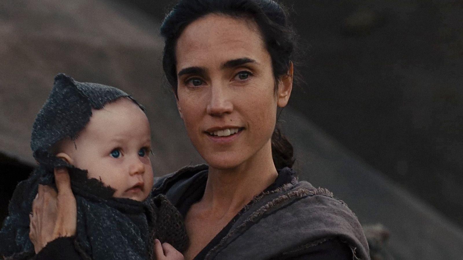 Nameeh (gespielt von Jennifer Connelly) mit ihrem jüngsten Sohn Jafet
