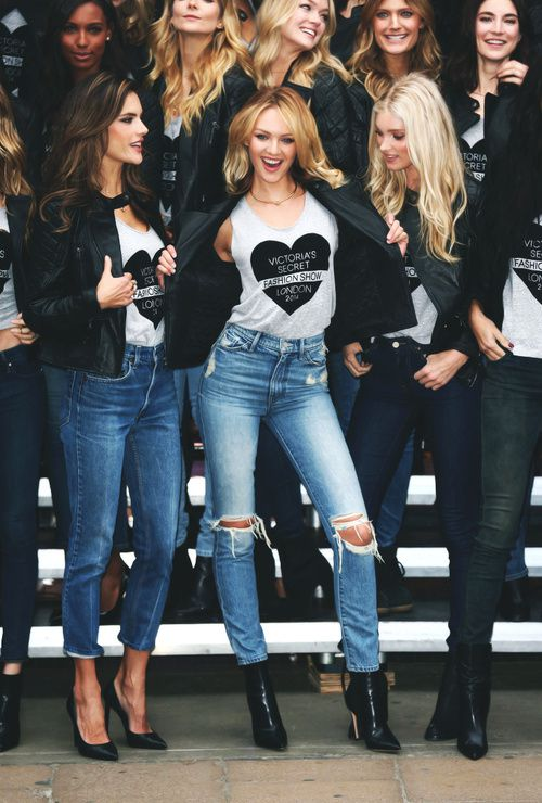Behind the 'Victoria's Secret Fashion Show' 2014 in London