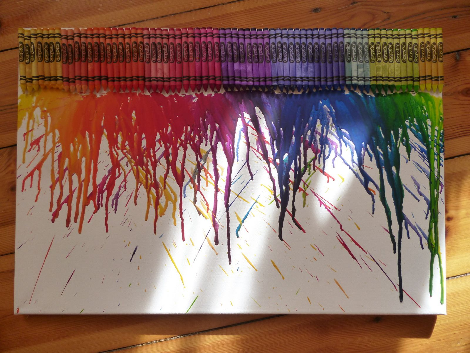 Melted Crayon DIY