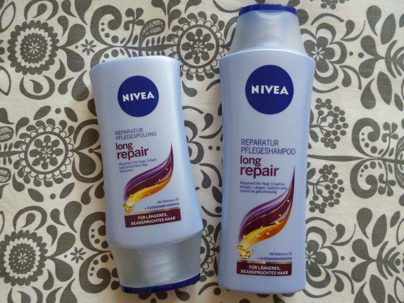 Review: Nivea Long Repair Shampoo & Spülung