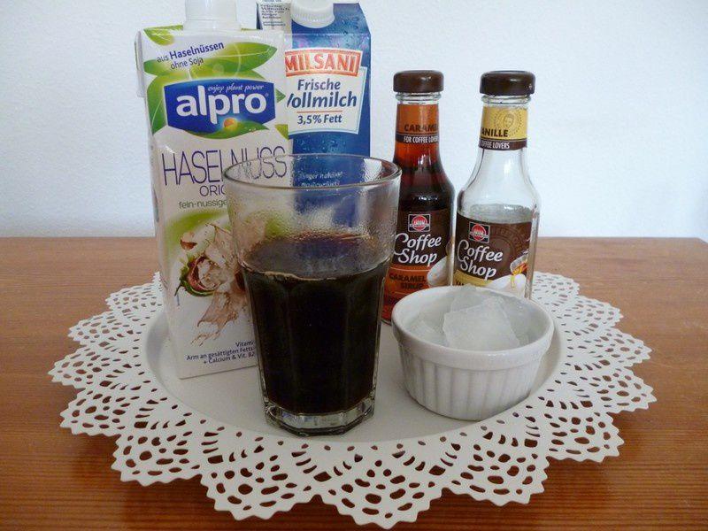 Rezept: Selbstgemachter Eiskaffee ☀