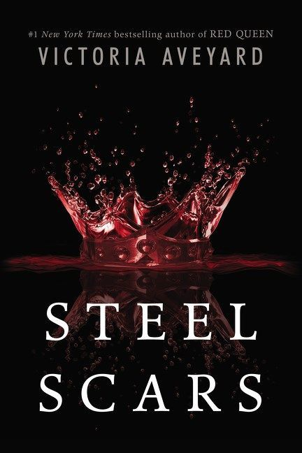 """Steel Scars"" Cover (""Red Queen"" Novella)"